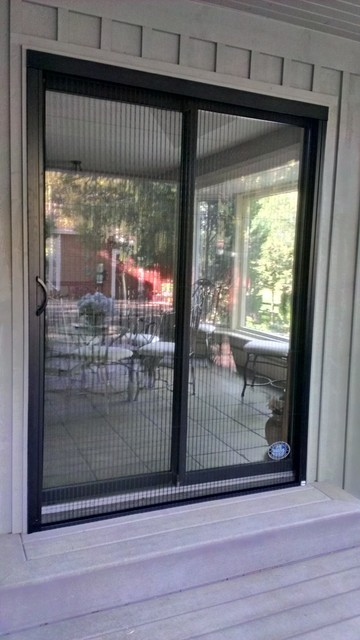 Pleated sheer retractable screens by genius modern for Genius retractable screen