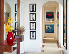 Point Piper - Art Deco Inspired contemporary-entry