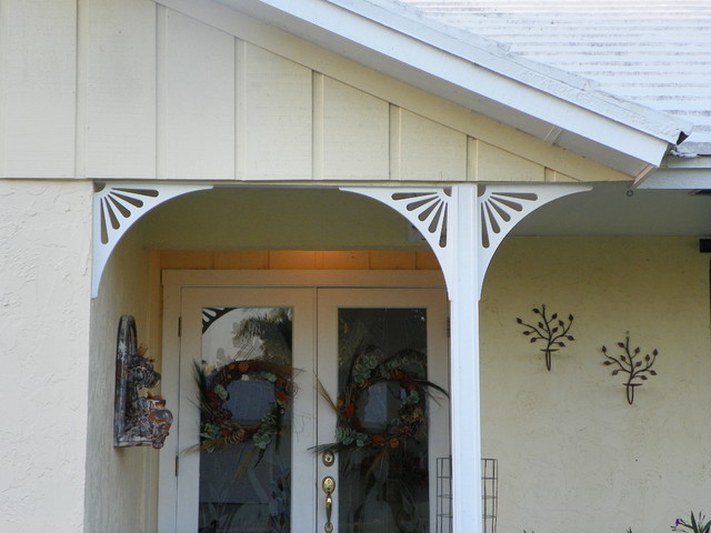 Porch Brackets Traditional Entry Other Metro By Durabrac Architectura