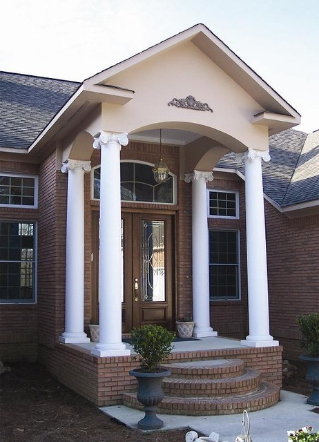 Porch Columns traditional-entry