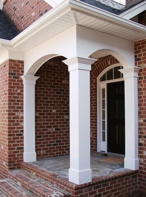 Porch Columns Traditional Entry Miami By Worthington Millwork LLC