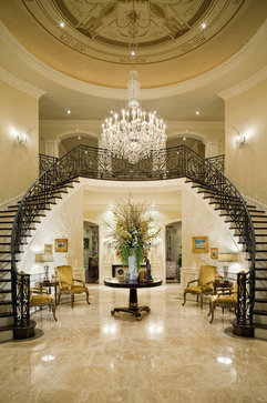 Grand Foyer In English : Interior styles and design chandeliers from the simple