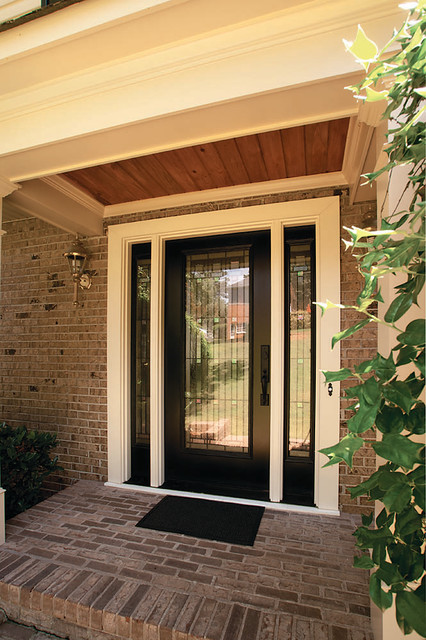 Portico designs contemporary entry atlanta by for Modern portico designs