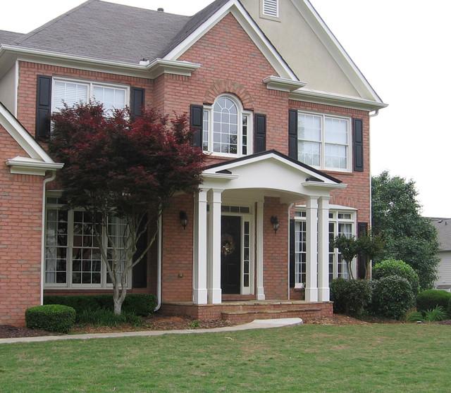 18 Great Traditional Front Porch Design Ideas: PORTICO IDEAS