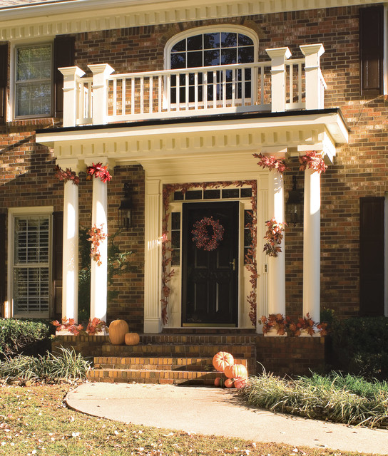 Portico Ideas Traditional Entry Atlanta By Georgia