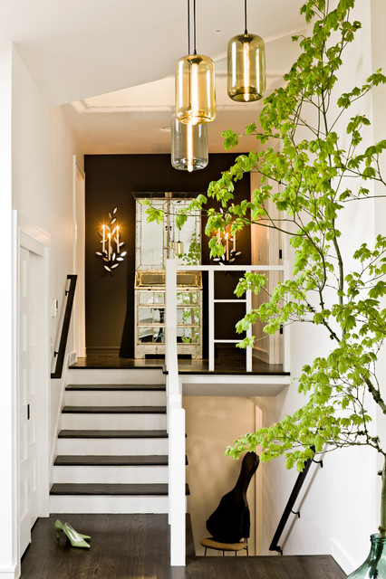 Split Entry Foyer Lighting : Portland mid century modern midcentury entry