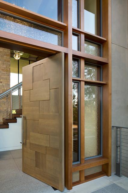 Portola Valley Residence Westridge modern-entry