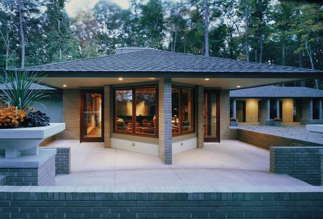 Prairie style architecture for Portable home designs