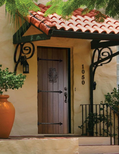 Prehung Exterior Single Door 96 80 FSC Wood Mahogany Solid Mediterranean  Entry
