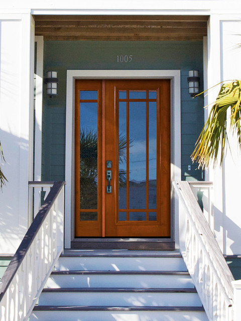 Prehung side light transom door 80 solid mahogany 9 lite for 9 light exterior door