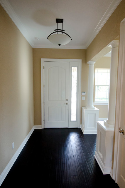 Private Residence - New Home traditional-entry