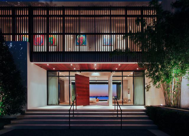 Private Residence North Beach - Miami modern-entry