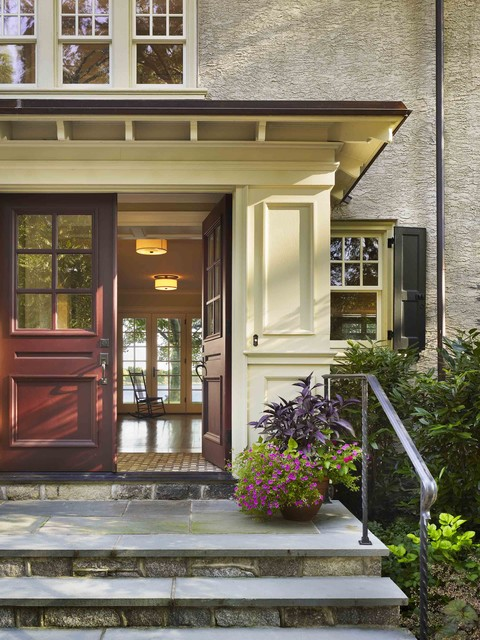 Private Residence on the Delaware River traditional-entry