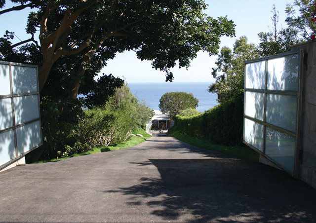 Property Entry with Ocean View contemporary-entry