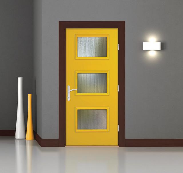 Pulse ari door modern entry other by therma tru doors for Therma tru pulse
