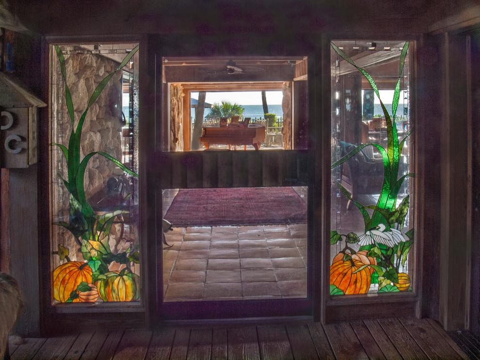 Pumpkin Center Entrance in Cocoa Beach for Allen Neuharth
