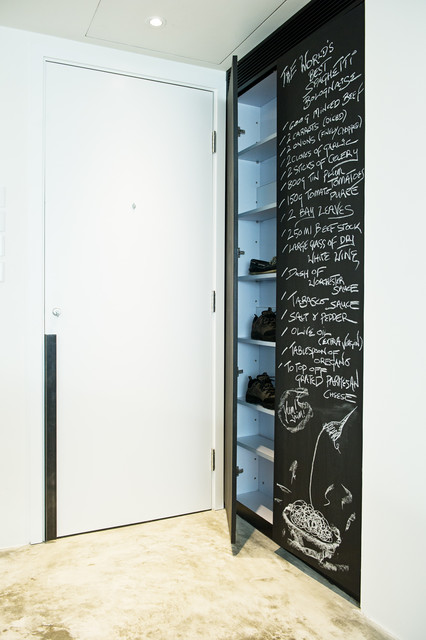 Foyer Closet Crossword : Puzzle box modern entry hong kong by urban design