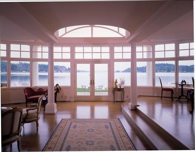 Quantum Windows & Doors   Tom Johnston Associates traditional-entry