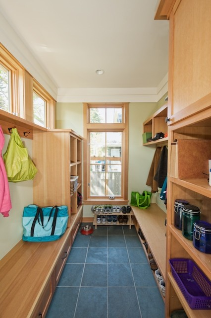 Queen Anne Four-Square traditional-laundry-room