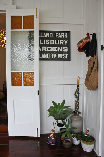 Queenslander entry the sow 39 s ear eclectic entry for Front door queenslander