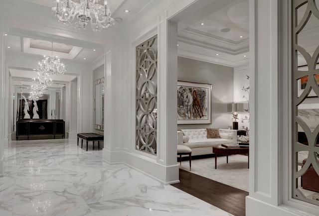 Foyer Tile Utah : Real calcutta porcelain tile designed by flora di menna