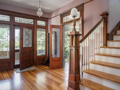 Hardwood floors in historic home in Atlanta GA
