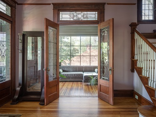 french doors in historic home in atlanta ga