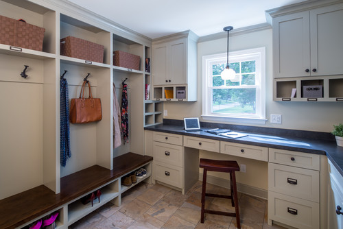 Home Office with Mudroom