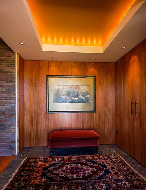 Red Hawk Residence, Sedona, Arizona. contemporary-entry