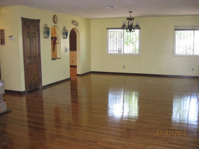 Refinish Wood Flooring Southwestern Entry Other By
