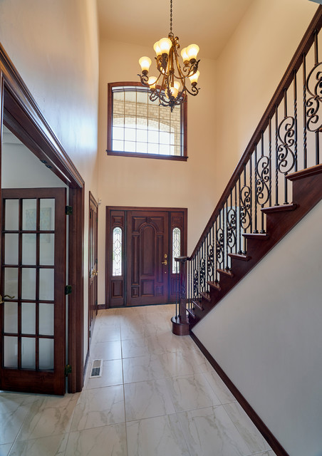 Traditional Foyer Questions : Regal entryway traditional entry other by roc