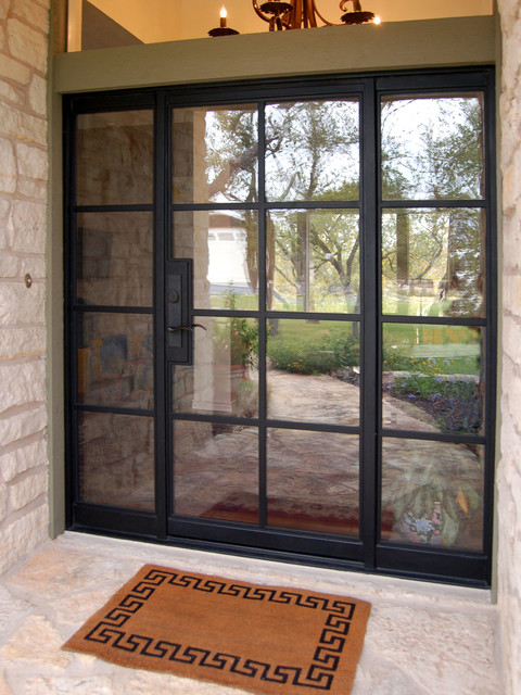 Rehme Steel Windows Amp Doors Transitional Entry