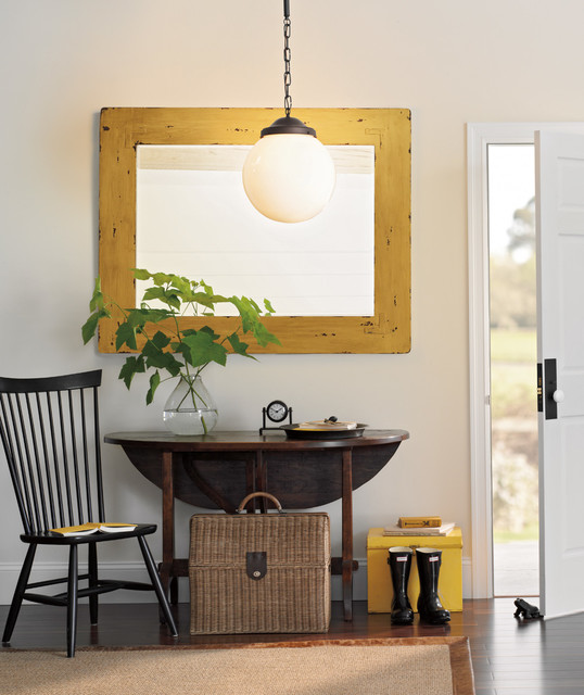 Rejuvenation: Home Office & Small Spaces contemporary-entry