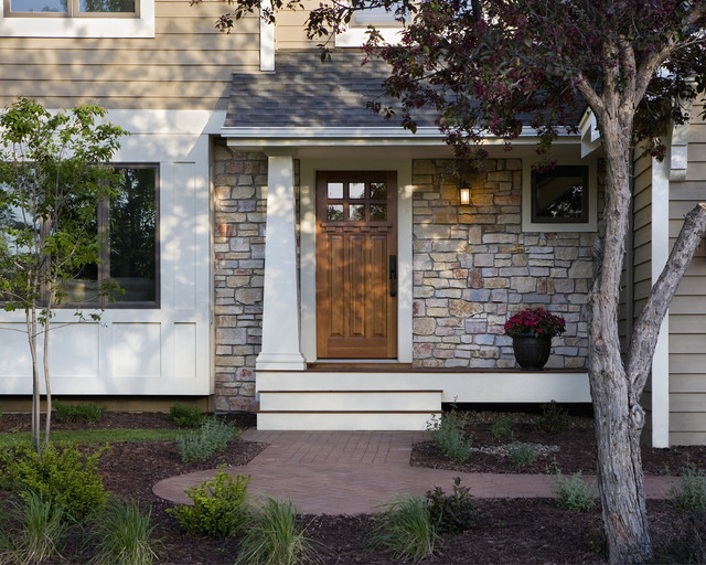 Remodel Of 1980 S Home Exterior Traditional Entry