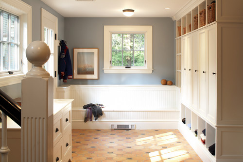 Renovation Redux Mudroom contemporary entry