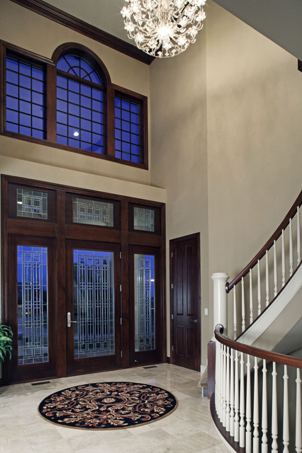 Residential traditional-entry