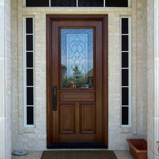 Residential luxury door collections traditional entry for Residential entry doors