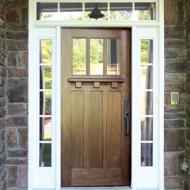 Residential Luxury Door Collections Craftsman Entry Austin By Doors4home