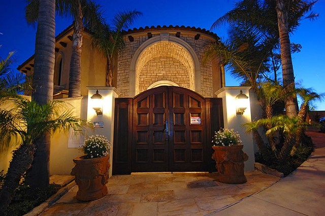 Residential Projects mediterranean-entry
