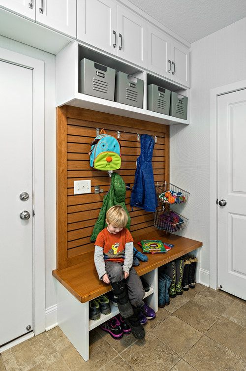 Revamped Mudroom