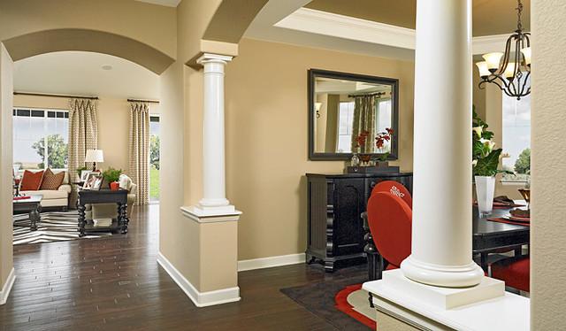 richmond american homes denver traditional entry. Black Bedroom Furniture Sets. Home Design Ideas