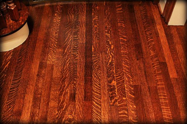 Rift and Quartered Oak Refurbish craftsman-entry