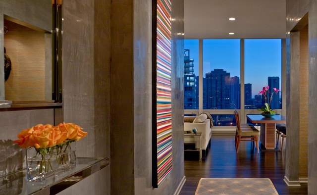 River North High-Rise contemporary-entry