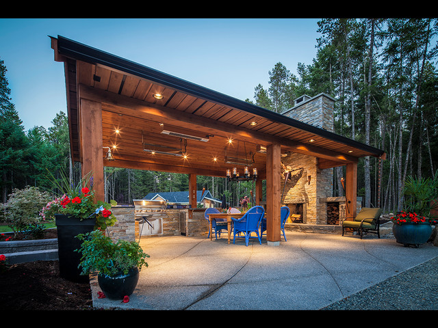 Rivers Edge Outdoor Living B Gallant Homes Nanaimo Bc Craftsman Entry Other Metro By