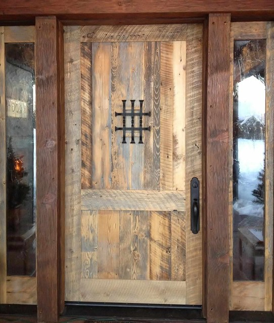 Charming Reclaimed Wooden Doors Ideas - Best Image Engine - Reclaimed Wood Doors WB Designs