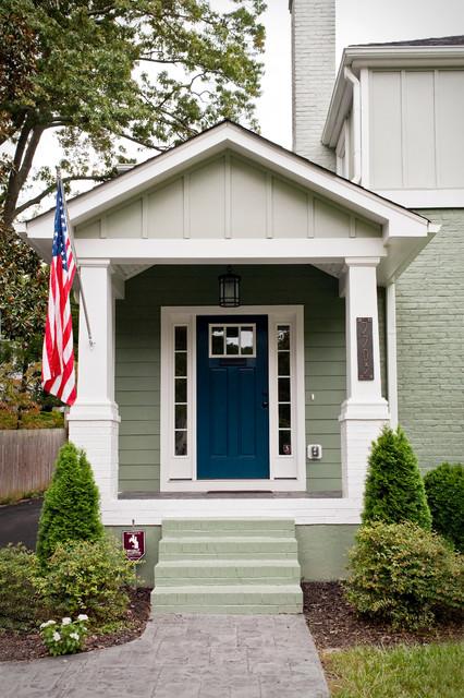 Rollingwood Hills Addition Craftsman Entry Richmond
