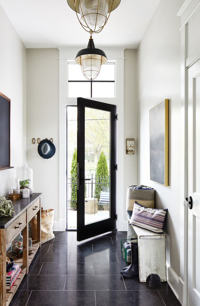 Inspiration for a cottage entryway remodel in DC Metro