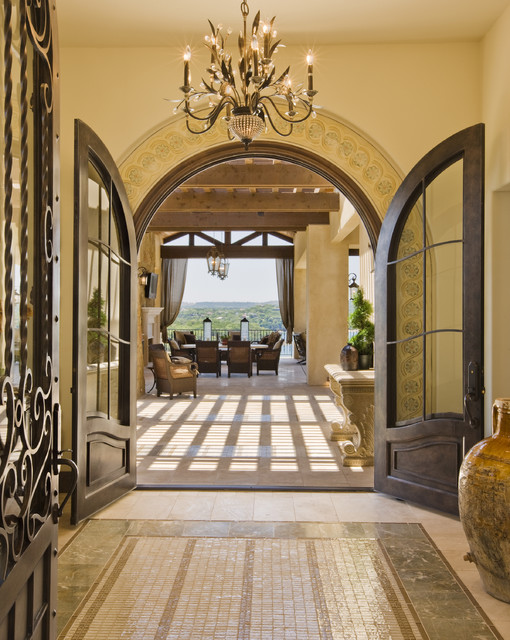 Rough Hollow Entry mediterranean entry