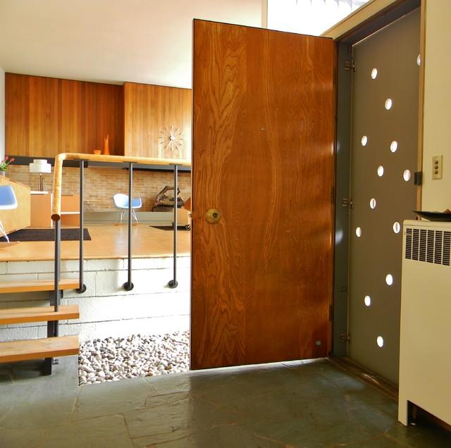 enchanting rural mid century modern midcentury bedroom seattle   Rural Mid-Century Modern - Midcentury - Entry - Seattle ...