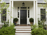 traditional exterior Put On a Good Face: Design Principles for Home Fronts (11 photos)